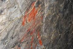 Наскальные рисунки в Игнатиевской пещере