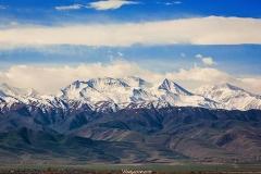 Киргизия заснеженные горы