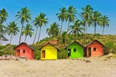 пляжные домики