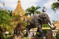 вид на улицу в Таиланде