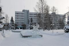 Санаторий Урал зимой