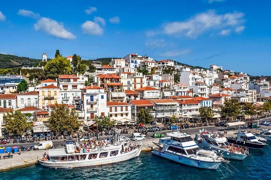 Греция остров Скиатос