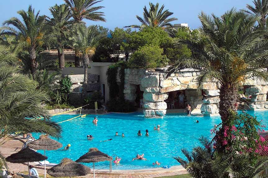Тунис бассейн отеля