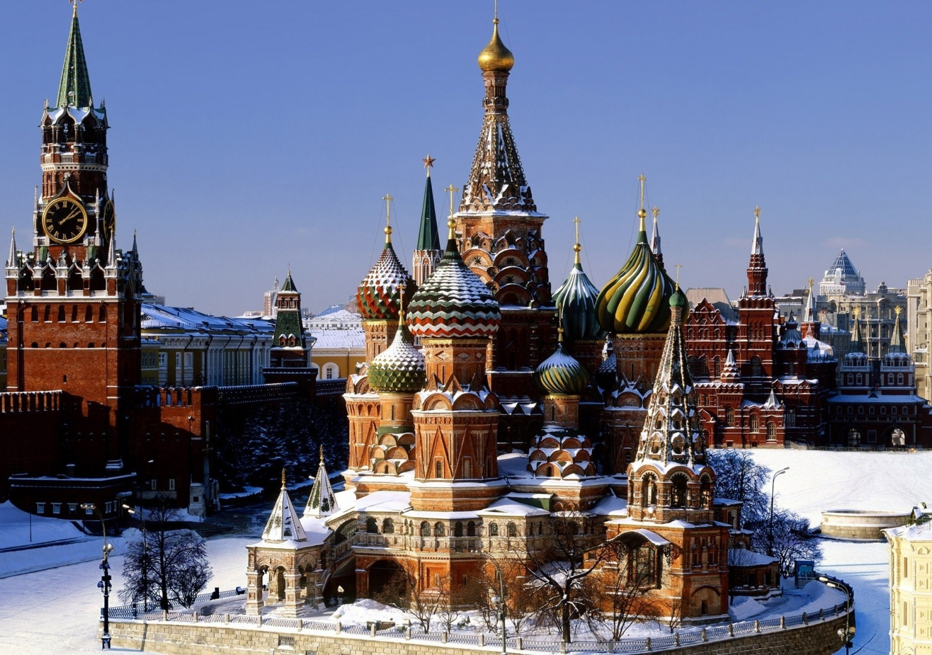 фото территории москвы