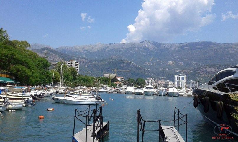Черногория, Будва, порт