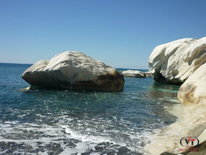 Грот Белые камни Кипр