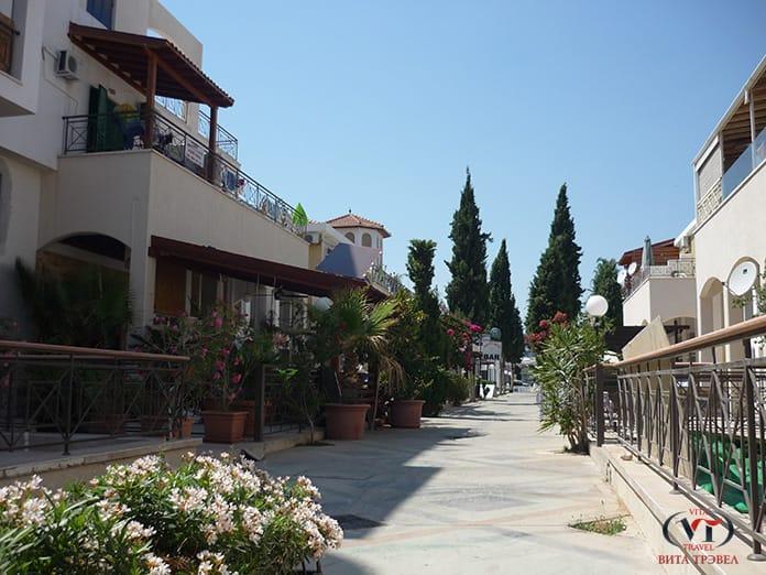 средиземноморская архитектура в лимассоле