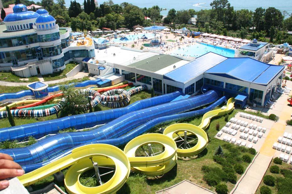 фото с аквапарком