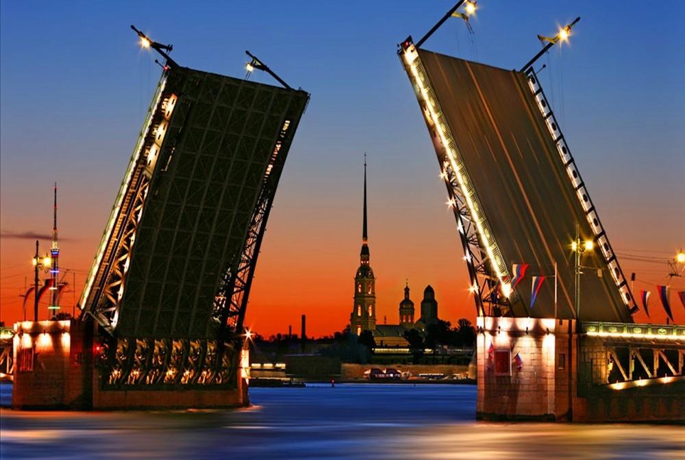 фото с мостом в Питере