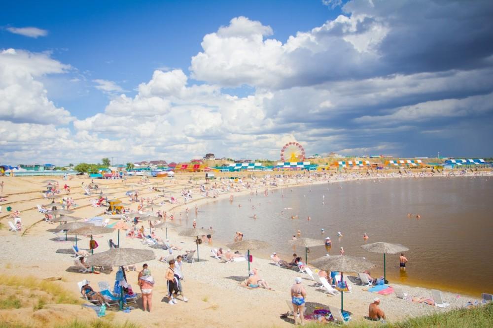 фото пляжа соль-илецка